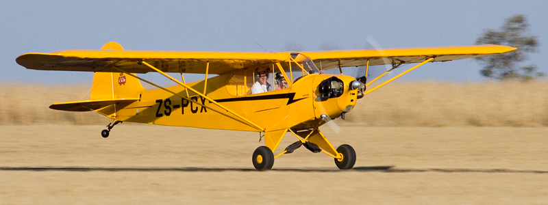 The Piper Cub in South Africa